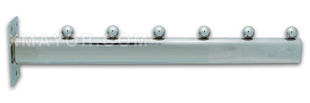 Colgadores de ropa de pared top un perchero de cuerda for Ganchos metalicos para perchas